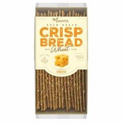 Płaskie chlebki pszenne z serem Danvita, 130g