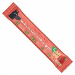 Batonik truskawka-dynia ze spiruliną Głodny Wilk, 20g