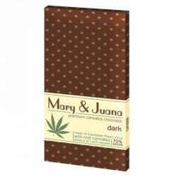 Czekolady Mary & Juana - deserowa Euphoria, 80g