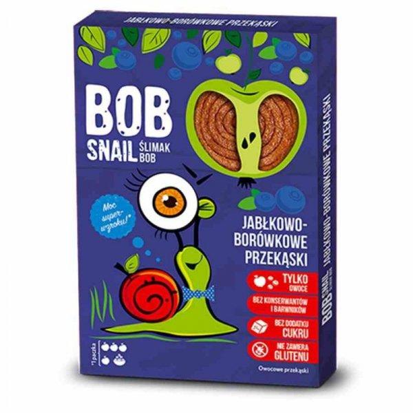 Bob Snail jabłko-borówka, 60g