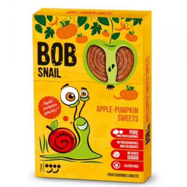 Bob Snail jabłko-dynia, 60g