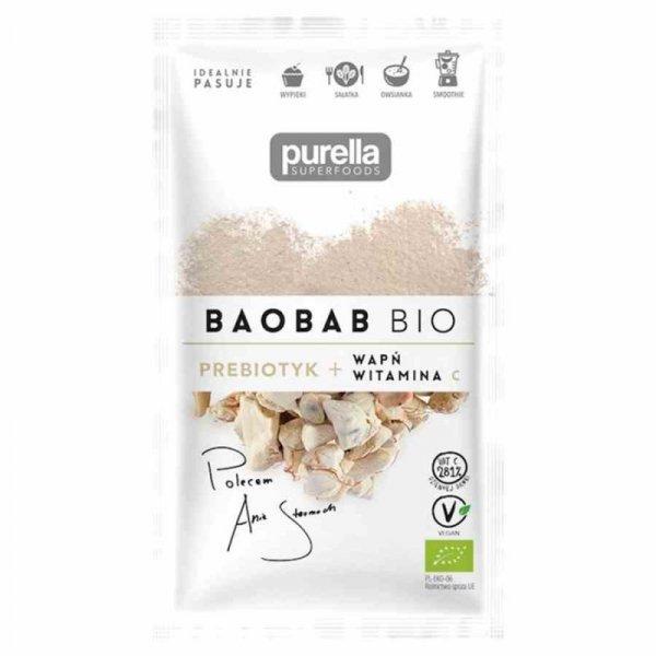 Baobab Purella Superfoods BIO, 21g