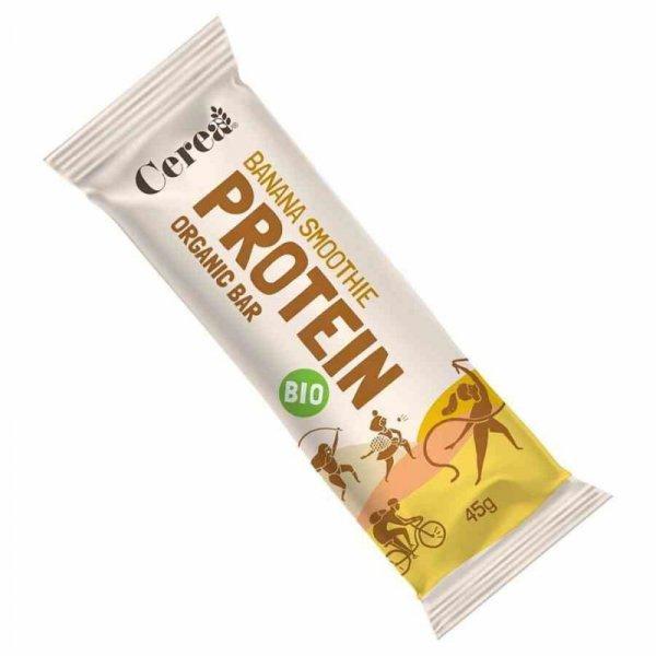 Baton proteinowy - Bananowe smoothie Cerea BIO, 45g