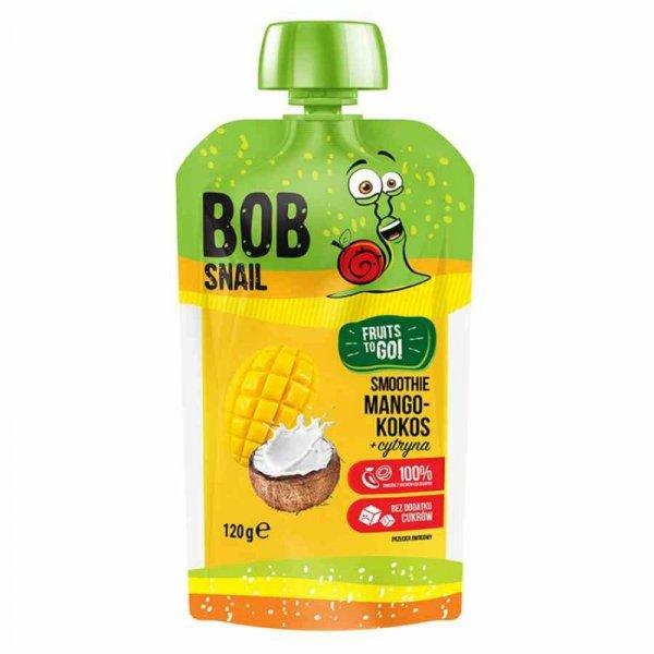 Smoothie mango-kokos-cytryna bez dodatku cukru Bob Snail, 120g
