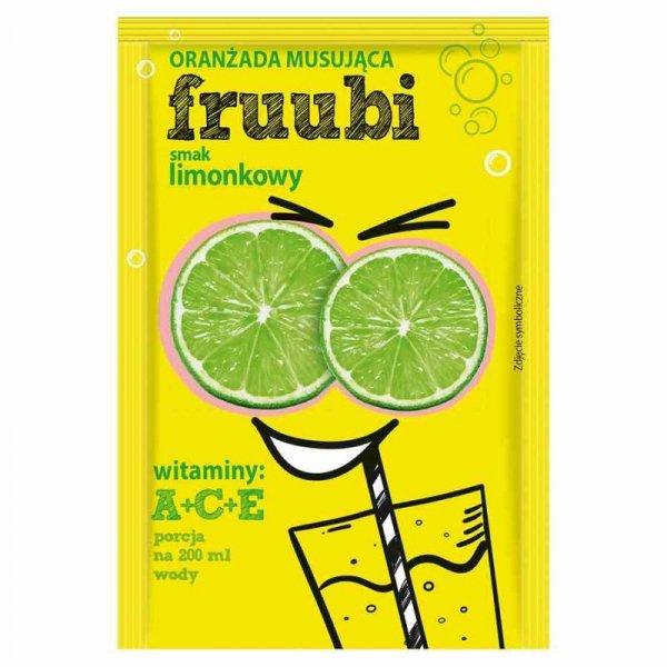 Oranżadka FRUUBI - limonkowa Delecta, 23g