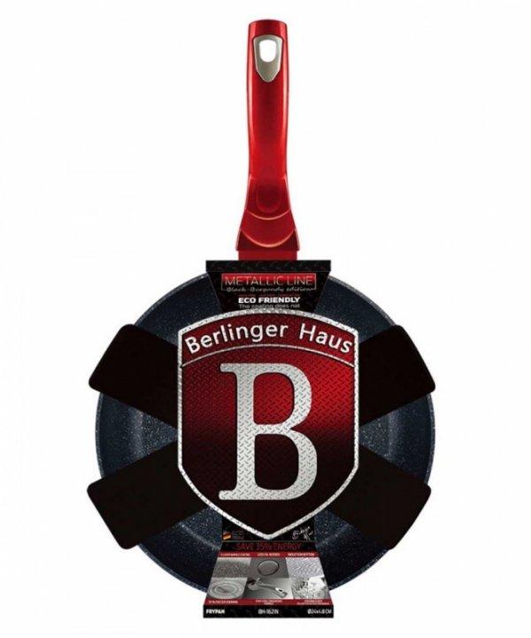 PATELNIA GRANITOWA 24cm BERLINGERHAUS BLACK BURGUNDY BH-1621