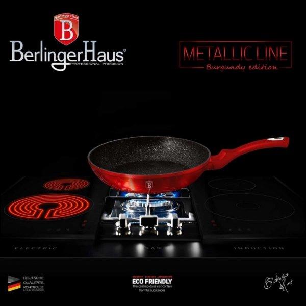 PATELNIA GRANITOWA 20cm BERLINGER HAUS RED METALLIC LINE BH-1251