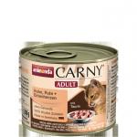 ANIMONDA Carny Adult puszka kurczak, indyk + kacze serca 200 g