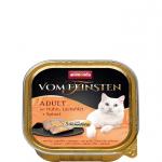 ANIMONDA Vom Feinsten Gourment Centre z kurczakiem i filetem z łososia + szpinak 100 g