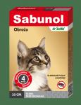 SABUNOL obroża szara przeciw pchłom dla kotów 35 cm