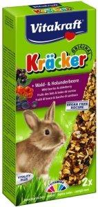 VITAKRAFT KRACKER 2szt d/królika owoce leśne/czarny bez