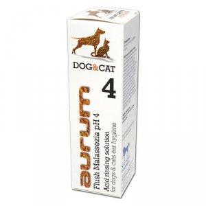 AURUM 4 - Kwaśna płukanka do higieny uszu psów i kotów 500ml