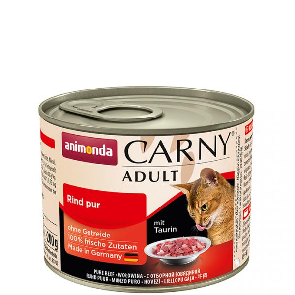 ANIMONDA Carny Adult puszka czysta wołowina 200 g