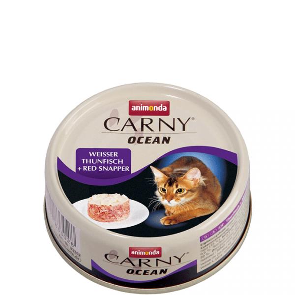 ANIMONDA Carny Ocean puszka biały tuńczyk czerwony lucjanus 80 g