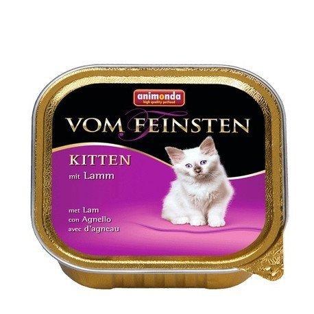 ANIMONDA Vom Feinsten Kitten szalka z jagnięciną 100 g