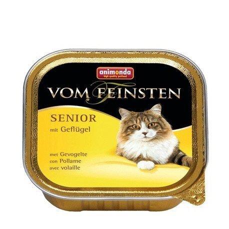 ANIMONDA Vom Feinsten Senior szalka z drobiem 100 g