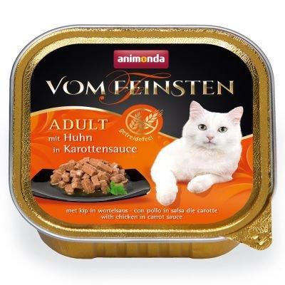ANIMONDA Vom Feinsten Grain Free szalka z kurczakiem w marchewkowym sosie 100 g