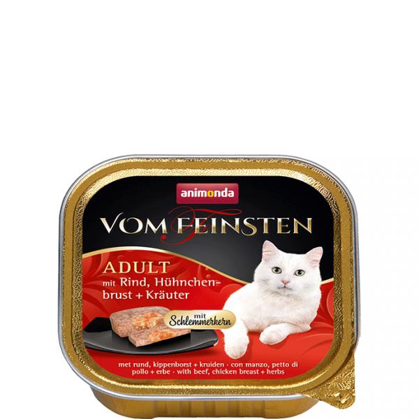 ANIMONDA Vom Feinsten Gourment Centre z wołowiną i piersią kurczaka + zioła 100 g