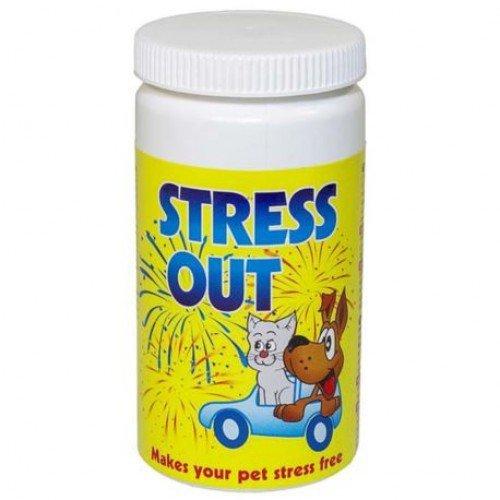 STRESS OUT preparat łagodnie uspokajający dla psów i kotów 60 tabl