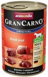 ANIMONDA GranCarno Orginal Adult puszki czysta wołowina 400 g