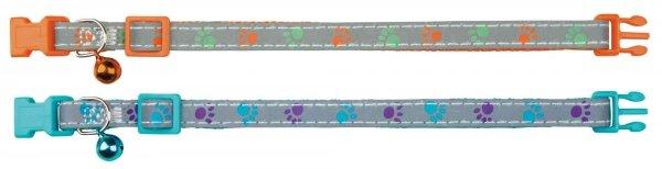 TRIXIE Obroża dla kota odblaskowa, nylon [TX-41871]