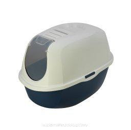 YARRO Toaleta z filtrem Eco-line kolor classic 53x39x41cm granatowa [Y3410-0980 G]