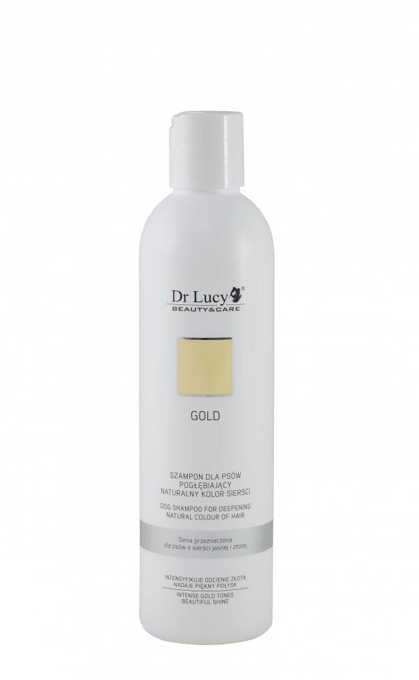 DR LUCY Szampon pogłębiający kolor sierści jasnej i złotej [GOLD] 250 ml