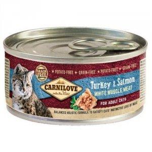 CARNILOVE CAT ADULT TURKEY&SALMON 100g