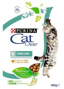 PURINA CAT CHOW SPECIAL CARE Sterilized Bogata w kurczaka 400g