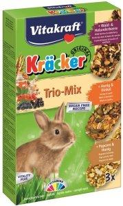 VITAKRAFT KRACKER 3szt d/królika pop/miód/owoc leś
