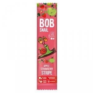 Bob Snail Stripe jabłkowo-truskawkowy, 14g
