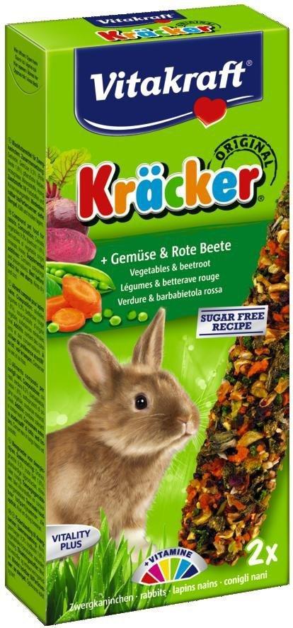 VITAKRAFT KRACKER 2szt d/królika warzywa/burak