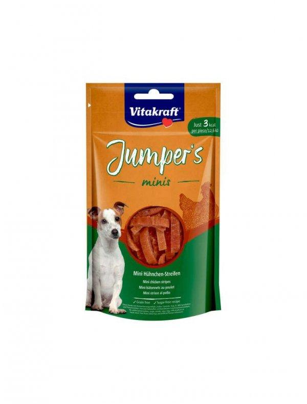 VITAKRAFT JUMPERS MINIS STRIPES kurczak 80g d/psa