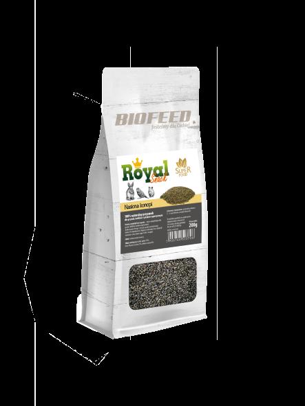 BIOFEED Royal Snack SuperFood - nasiona konopi 200g