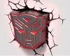 Lampka nocna Transformers Autobot 3D Deco Light