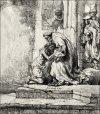 Return of the Prodigal Son, Rembrandt - plakat