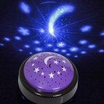 Lampka – projektor niebo i gwiazdki
