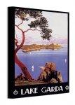 Lake Garda - obraz na płótnie