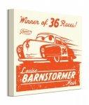 Cars 3 Louise Barnstormer Nash - obraz na płótnie
