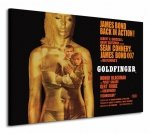 James Bond (Goldfinger - Projection) - Obraz na płótnie