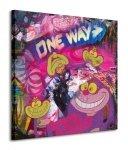 The Cheshire Cat (Graffiti) - Obraz na płótnie
