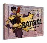 Batgirl The Radio Hour - Obraz na płótnie