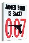 James Bond is back - Obraz na płótnie