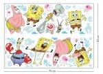 Naklejki SpongeBob Kanciastoporty