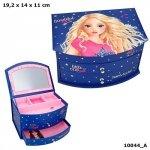 Szkatułka pudełko na biżuterię 10044 Top Model z lusterkiem