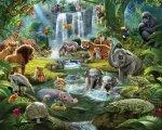 Tapeta 3D Dżungla - Jungle