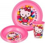 Zestaw obiadowy Hello Kitty
