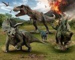 Tapeta 3D Dinozaury Jurassic World fototapeta