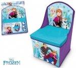 Fotelik Pudełko pojemnik na zabawki Kraina Lodu Disney FROZEN