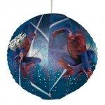 Lampion, papierowa kula Spider Man